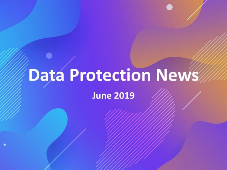 Data Protection News June 2019 Logo