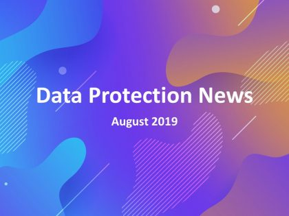 Evalian - Data Protection News August 2019 Logo